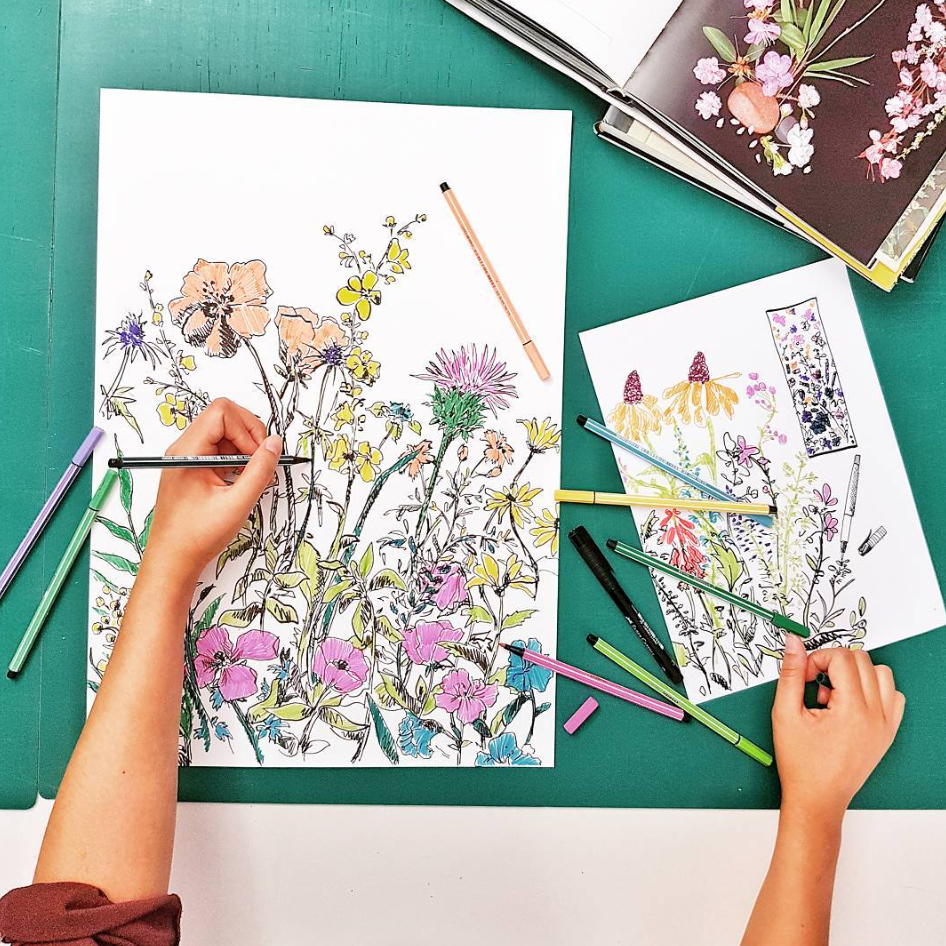 Scetch_Zeichnung_Farben_colours_Seidenmann_Zurich